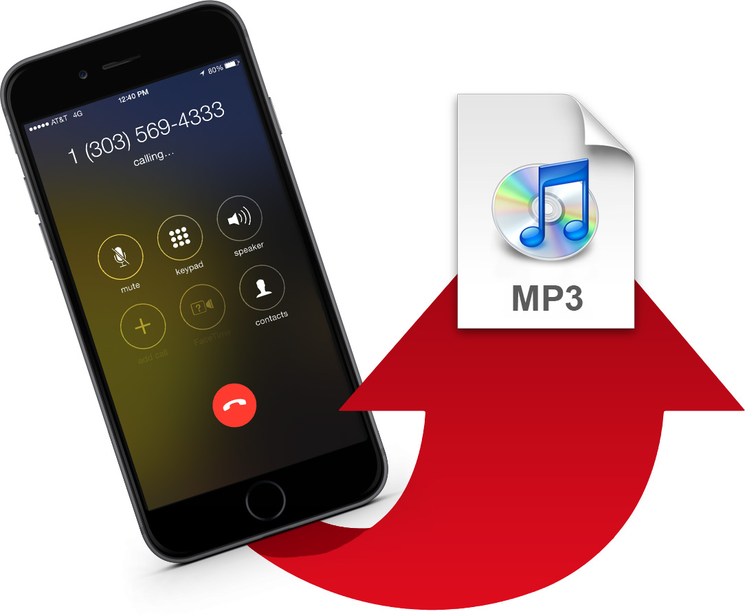 Record calls and save as mp3
